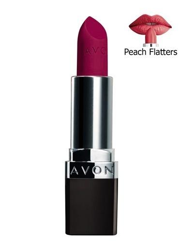 Avon Perfectly Mat Ruj Peach Flatters Renkli